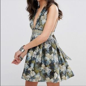 NEW Free People 'Daydreamin' Printed Mini Dress